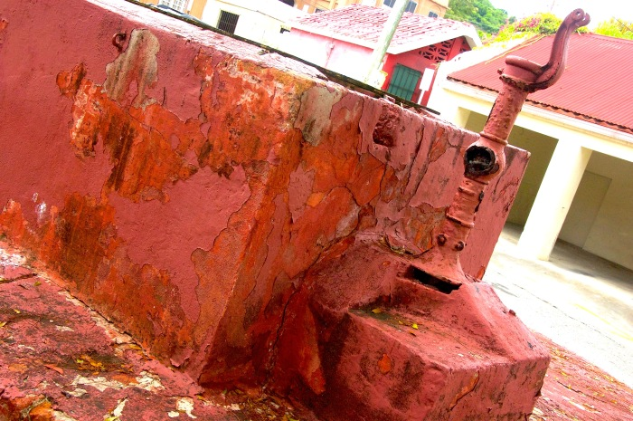 Survival - Christiansted market watermill on St. Croix, VI. by Stephanie Hanlon